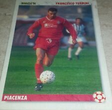 CARD JOKER 1994 PIACENZA TURRINI CALCIO FOOTBALL SOCCER ALBUM