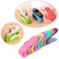 Display Rack Shoes Organizer Space - Saving Plastic Rack Storage Multi-color New