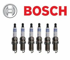6- Bosch 9607 OE Iridium Fine Wire Spark Plugs Set Pre-Gapped for Audi For BMW