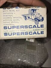 VERY RARE, 1/43 Superscale, 1911 Albion A14. White Metal Kit.