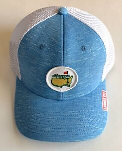 2021 Masters golf hat ladies fit flex performance heathered blue pga new