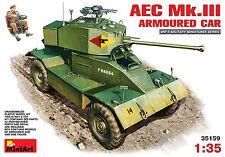 MiniArt 1/35 35159 WWII British AEC Mk 3 Armoured Car w/1 Figure