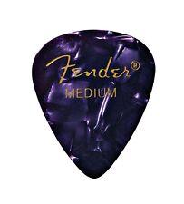 Fender 351 Premium Celluloid Guitar Picks - PURPLE, MEDIUM 144-Pack (1 Gross)