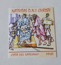 Vatikan 2012 * Briefmarken Heft , ungestempelt  5,40 Euro ~ Weihnachten