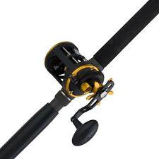 Penn Squall Levelwind Saltwater Trolling Fishing Reel & Rod Combo (Open Box)