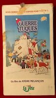 La Guerre Des Tuques VHS Tape The Dog Who Stopped the War French Language Movie
