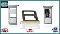 Samsung Galaxy S7 Edge G935FD Micro SD / Dual Sim Card Tray Holder Gold