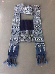 Thai Boho Crossbody Bag Sling Shouder Bag Purse Bag Fabric Bag