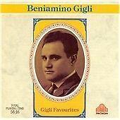 Gigli Favourites, Beniamino Gigli, Very Good CD
