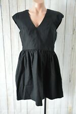 French Connection Dress Size Medium 10 Black Skater Corporate