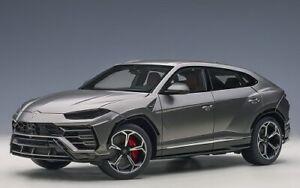 AUTOart 79164 - 1/18 Lamborghini Urus (Grigio Titans) - Neuf