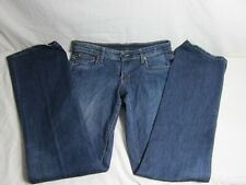 2f986451258 Women's POLO Ralph Lauren Stretch KELLY Bootcut Low Rise Blue Jeans Size 4