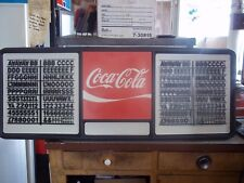 New 4ft Coca-Cola Menu Board Sign w/2 sets of coke black letters & numbers
