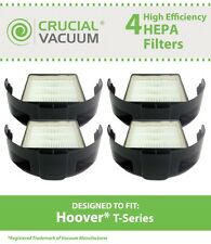 4 Hoover Windtunnel T-Series HEPA Style Filters, Part # 303172001 & 303172002