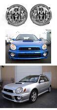 DEPO JDM Style Glass Fog Lights For 2002-2003 Subaru Impreza RS / WRX GDA GDB