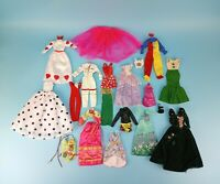 Vintage & Modern Barbie Doll Clothes Lot Of 22 Pcs For OOAK Or Play