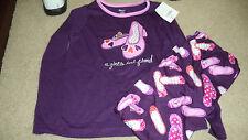 Gymboree Girl's A Girl's Best friend Purple Shoes Gymmies 4 - NWT