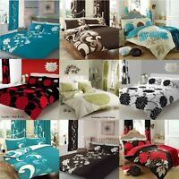 Duvet Cover with Pillow Case Quilt Cover Bedding Set Single/Double/King/Super/K