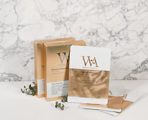 WOOA Vitamin Ampoule Face Mask pack 10EA Contains Vitamin B/E/C/K