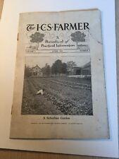 Rare 1914 Historical Farm School Magazine Scranton Pennsylvania Browns  Mills NJ