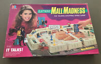 Vintage 1989 Milton Bradley Mall Madness Electronic Board Game 98% Complete Read