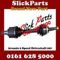 TOYOTA AVENSIS 2.0 D4D 6 SPEED 2006 2007 2008 FRONT LEFT DRIVESHAFT NSF *NEW*