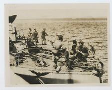 Argentine, Puerto Madryn Vintage silver print,U.S. team to help find Phantom