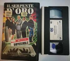 VHS - IL SERPENTE D'ORO - MISSION IMPOSSIBLE di Don Chaffey [CIC]