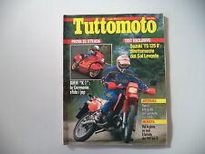 TUTTOMOTO 7/1989 BMW K1/FANTIC KOALA/YAMAHA YZ 250 WR/SUZUKI TS 125 R