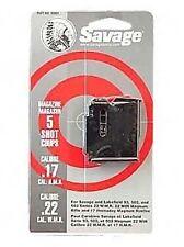 Savage 93 Series Blue Magazine 5 Round 17 HMR / 22 WMR #90001 NEW