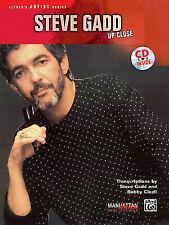 Steve Gadd -- Up Close: Book & CD by Steve Gadd (Mixed media product, 1994)