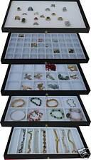 Black 5 Drawer Jewelry Storage Arts Crafts parts organizer