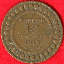 TUNISIA - 10 CENTIMES - AH1330-1912 A