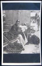 FRANCE~1905 HENRI A. ZO RPPC ~ SPAIN SEVILLE ~ WOMAN SELLING AT MARKET ~