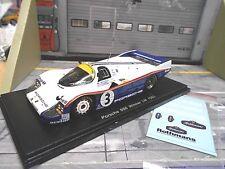 Porsche 956c 956 c le mans 1983 winner #3 holbert Haywood sch Rothman Spark 1:43