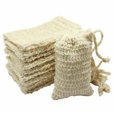 10 Pack Natural Sisal Soap Bag Exfoliating Soap Saver Pouch Holder Z8n1 1i