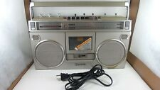 Vintage Panasonic RX-5090 Cassette AM/FM Portable Radio BoomBox Tested Working
