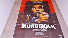 lucio fulci  MURDEROCK  !  affiche cinema horreur
