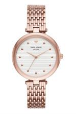 Kate Spade New York Women's Rose Gold Varick Bracelet Watch 0716