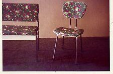 PUBBLICITARIA-foto MOBILI SEDIA FIORI DECORO angolare 1950er Tromlitz-mobili per sedersi Hannover