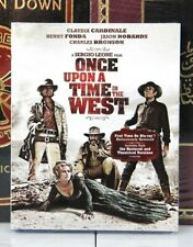 Once Upon A Time In The West - Blu-Ray New w/ Slipcase - I Ship Boxed
