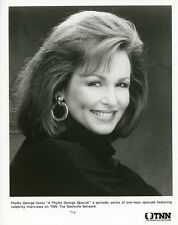 PHYLLIS GEORGE PRETTY SMILING PORTRAIT PHYLLIS GEORGE SPECIAL 1994 TNN TV PHOTO