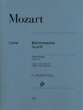Henle Urtext Mozart Piano Sonatas, Volume 2