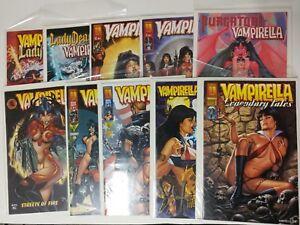 Alternative comic lot Vampirella lot of 14 NM Bagged Boarded various 1 +