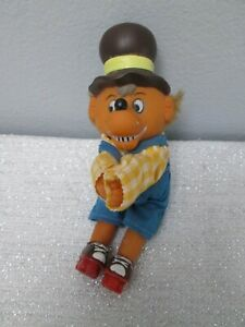 Rare Vintage Bernstein Bears Plush Vinyl Clip On Hugger Doll Toy
