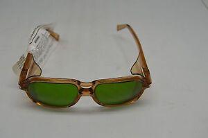 American Optical Safety Glasses 8754 Lens 54 BR 19 BRN GRN 2.5 Steampunk