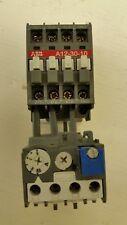 Used ABB Starter,11-2N, A12-30-10-84 w/TA25DU8.5, 120V Coil, 5hp@480V, 2hp@240V