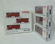 Marklin 4624.009 4624 3 wagens RBH : 94404 + 94405 + 94406 ECHTE steenkool !