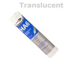 HA6 Marine Aquarium Fish Tank Silicone Sealant 310ml - Translucent