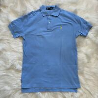 Polo Ralph Lauren Mens Polo Shirt Blue Short Sleeves